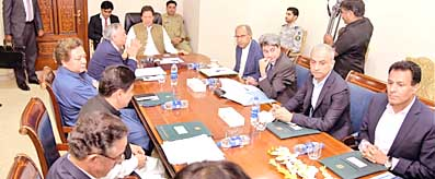 PM meeting on Pakistan Steel Mills