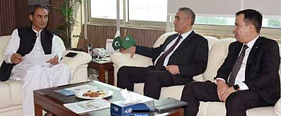MOS / Chairman BoI meeting with Ambassador of Turkmenistan
