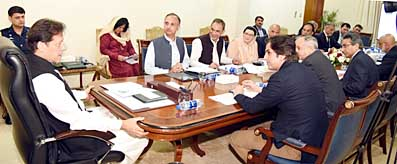 PM Imran Khan meeting on SEZ