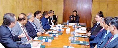 PM chairs meeting on EoDB in Construction Sector