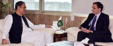 Zubair Gilani meeting with US Ambassador